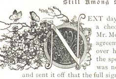 Image taken from page 303 of 'The Great Shadow, and Beyond the City' #initial_N #initial #N