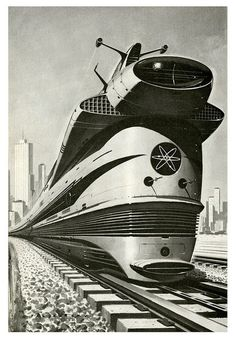 retro futurism:  atom punk