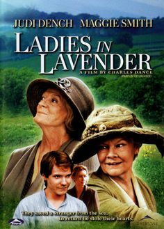Ladies in Lavender DVD ~ Judi Dench, Maggie Smith Library Natascha Mcelhone, Maggie Smith, David Warner, Good Movies To Watch, Great Movies, Ladies In Lavender, Daniel Brühl, Chick Flicks, Funny Movies