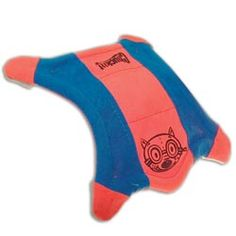 Have a far flung game of fetch with the Chuckit! Flying Squirrel. Just grab him by a paw and throw like a flying disk!
