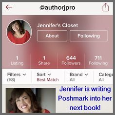 "Let's Link Up on Social Media! Exciting things are happening with Posh & the romance writing community.  Join me on Twitter & share my pinned tweet regarding this news. And follow Jennifer Probst! She is choosing ""Posh picks"" on her social media sites and her readers see these picks.  Jennifer's ebook ""Summer Sins"" - featuring REAL Poshmark closets! - will release on 3/29 with the ""Hot in the Hamptons"" book set on Amazon. @queenmumm Other"