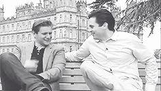 Rob James-Collier e Allen Leech Rob James Collier, Allen Leech, The Scarlet Pimpernel, Cartomancy, Downton Abbey, Jane Austen, Best Shows Ever, Bbc, Beautiful Men