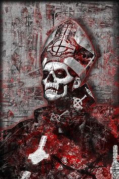 Papa Emeritus Poster, Papa Emeritus Portrait Gift, Papa Emeritus and G – McQDesign