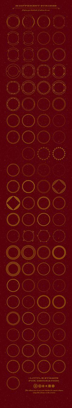 Circle Badge Creator by Pavel Korzhenko on Creative Market