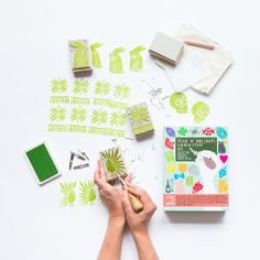 Year of Holidays - Carve A Stamp Kit