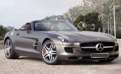 Mercedes-Benz SLS AMG Roadster wallpapers