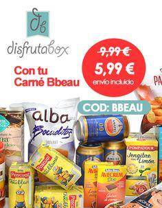 Ahora tu primera caja DISFRUTABOX por 5,99€ en vez de 9,99€* si eres BBEAU ¡Compártelo! *Introduce código de compra https://www.bbeau.es/producto/disfrutabox-tu-caja-599e/