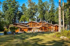 WEST COAST RESIDENCE - The architecture is a perfect example of contemporary luxury. Fine craftsmanship and artistic detailing pervade every part of the home, resulting in endless, interesting architectural perspectives. | 6540 Eagles Drive, Courtenay BC #Gorgeous #Luxury #Architecture #BritishColumbia