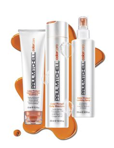 Paul Mitchell Color Care   Be brilliant. Gently care for your color-treated hair with Paul Mitchell® Color Care, featuring sunflower extract for natural UV protection and head-turning, long-lasting color.