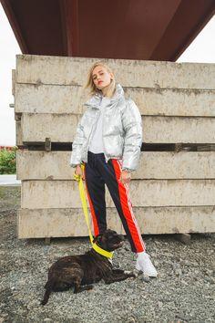 Urban Outdoor | Space puffa jacket by JUNKYARD XX-XY