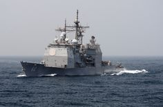 "USS Chancellorsville CG-62 is Underway in the Arabian Sea (July 6, 2011) - 4"" x 6"" Photograph"