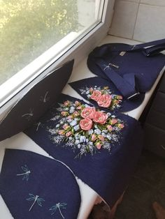Items similar to Dark blue fairytale backpack,linen backpack,linen bag embroidered ribbons,flowers embroidered backpack,elf super stylish purple backpack on Etsy Embroidery Bags, Silk Ribbon Embroidery, Ribbon Art, Linen Bag, Bag Patterns To Sew, Denim Bag, Fabric Bags, Fashion Bags, Purses And Bags