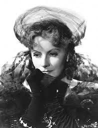 Garbo in Camille wearing Joseff Hollywood Jewelry.