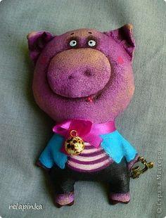 Игрушка Шитьё: мелкие игрушки Ткань 1 апреля. Фото 10