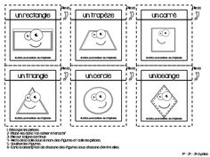 Les figures planes { Cahier interactif }   Les créations de Stéphanie