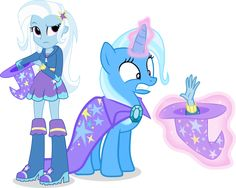 Trixie and Trixie by Vector-Brony on deviantART