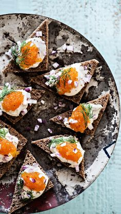 Mätileivät | K-ruoka #joulu #pikkujoulu #cocktailpalat Canapes Catering, Finnish Recipes, Scandinavian Food, Salty Snacks, Delicious Sandwiches, Dessert Drinks, Food Plating, Christmas Treats, Summer Recipes