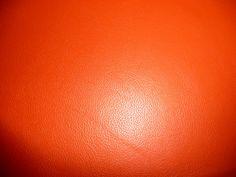 "Leather 12""x12"" Bright Orange DIVINE line Top Grain Soft Cowhide 2.5 oz / 1 mm PeggySueAlso?"