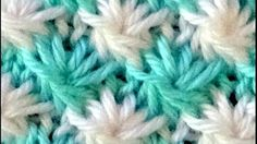 Cómo Tejer FLORECITAS EN COLORES-How to Knit Flowers in Colors-2 Agujas (345) - YouTube Knitting Videos, Crochet Videos, Knitting Needles, Crochet Stitches, Maya, Crafts, Dress, Knitting Patterns, Crochet Blankets