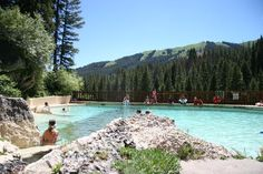 Granite Hot Springs in Jackson Hole, Wyo.— it's a gorgeous drive along the Gros Ventre Mountains through the Bridger-Teton National Forest. Vacation Places, Dream Vacations, Vacation Spots, Places To Travel, Places To Visit, Vacation Ideas, Family Vacations, Wyoming Vacation, Yellowstone Vacation