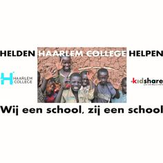 Het Haarlem College loopt voor scholen in Kenia