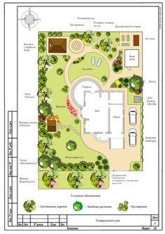 Генплан участка 12 соток г Гурьевск от автора Шайдарова Надежда для типа портфолио Фото Landscape Architecture Drawing, Landscape Design Plans, Garden Design Plans, Landscape Concept, Architecture Plan, Plan Design, Farm Layout, Backyard Renovations, Latest House Designs