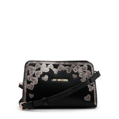Love Moschino Clutch Bag (US Only)) - Fashion Women Men Casual Classy Trends Summer Autumn Winter Spring Fall Outfit Monochromatic Black Clutch Bags, Leather Clutch Bags, Crossbody Bags, Cheap Handbags, Black Handbags, Moschino Bag, Classy Trends, Black Cross Body Bag, Luxury Bags
