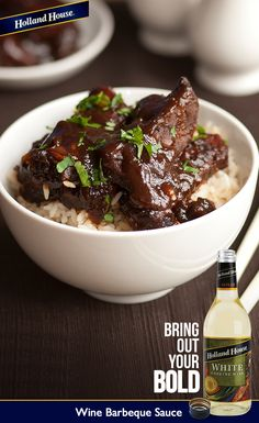 This Wine Barbeque Sauce is a super simple recipe that can add a flavorful zing to your favorite barbecue sauce, whether it's homemade or store bought.