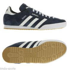 ADIDAS ORIGINALS SAMBA SUPER SUEDE TRAINERS MENS RETRO CASUAL SHOES O19332  BNIB