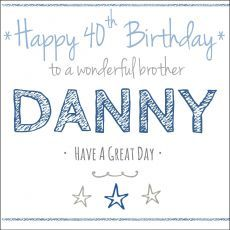 Click To View The Personalised Birthday Card ANY NAME RELATION Cards For Boys