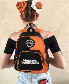 This Harley Davidson backpack and SO MUCH MORE going up NOW in today's new #vintage arrivals!
