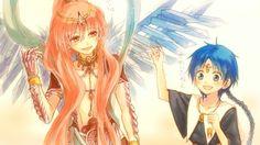 Kouha Ren and Aladin Magi 3, Sinbad Magi, Alibaba And Morgiana, Magi Kingdom Of Magic, Magi Adventures Of Sinbad, Aladdin Magi, Anime Magi, Cute Anime Chibi, Best Waifu