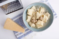 This homemade turkey tortellini is a treasured family recipe. It tastes delicious tossed in a simple sauce or floating in homemade chicken broth.