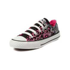 36a61ff25c0f Shop for Youth Converse All Star Lo Leopard Athletic Shoe in Multi at  Journeys Kidz.