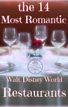 We've narrowed down all of Walt Disney World's restaurants to the 14 most romantic for Valentines Day, Anniversaries, or just because. Disney World Tipps, Disney World Food, Disney World Tips And Tricks, Disney Worlds, Disney World Honeymoon, Walt Disney World Vacations, Disney Trips, Disney Travel, Disney Parks