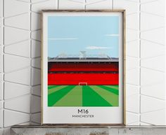 Custom Contemporary Print Of Any Football Stadium by Turf Football Art, the perfect gift for Explore more unique gifts in our curated marketplace. Football Art, Football Stadiums, Bold Colors, Colours, Minimalist Fashion, Minimalist Style, Fine Art Paper, Graphic Illustration, Contemporary