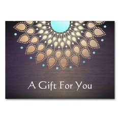 Massage Therapist Gift Card Large Business Cards (Pack Of 100)