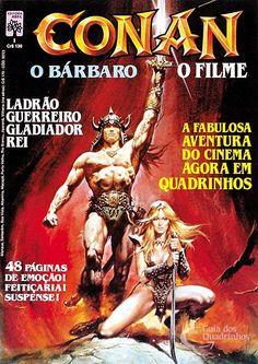 Almanaque Conan, O Bárbaro 1ª Série - n° 1/Abril | Guia dos Quadrinhos