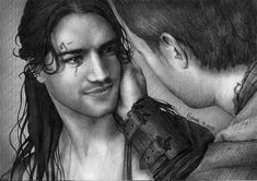 Nagron First Kiss, Agron's POV (Spartacus) by figchan on DeviantArt