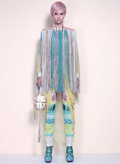 Futuristic Fashion, Psychedelic Sci-Fi Streetwear