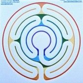 finger labyrinth design Make using a POLYCLAY disc ... make a stylus using  an