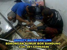 gravity water drilling jasa sumur bor bandung