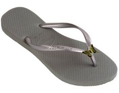 611a2bcea9859 Dinis HAVAIANAS Slim Skinnies Jeweled Flip Flops Enamel Butterfly   Details  can be found by clicking