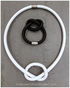 inspiration and realisation: DIY fashion blog: DIY MM6 leather knot