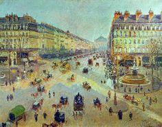 Camille Pissarro - C.Pissarro, Avenue de l'Opéra