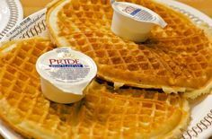 Copycat Recipes: Waffle House Waffles Recipe! This is our last resort, Ags! The perfect pre-game meal. #wafflesforAgs