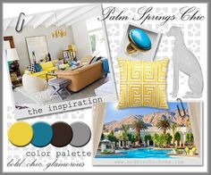 {palm springs chic}