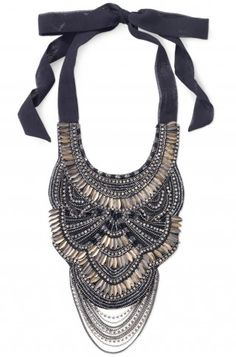 Stella & Dot Limited Edition - Virginia Bib Necklace!!! This is a must have come this Fall...