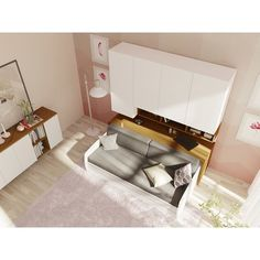 Brayden Studio Flamingo Mattress Cover and 2 Piece Cushion Sofa Bed With Trundle, Daybed Mattress, Futon Bunk Bed, Mattress Covers, Best Murphy Bed, Murphy Bed Ikea, Murphy Bed Plans, Xl Sofa, Zipper Bedding