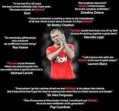 """On this day: In Paul Scholes made his Manchester United debut. Football Icon, Football Quotes, Best Football Team, Soccer Quotes, Football Soccer, Football Fever, Soccer Teams, Football Players, Manchester United Legends"